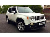 2016 Jeep Renegade 1.4 Multiair Limited 5dr Manual Petrol Hatchback