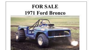 For sale 1971 Ford bronco