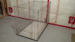 Large dog cage for sale - must go!!!