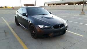 2011 BMW M3 Frozen Black Competition Package Sedan