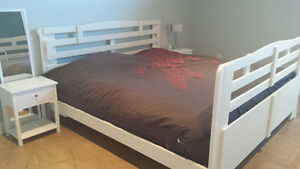 Plateform king size bed