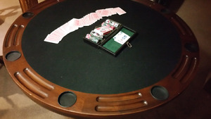 POKER  table  3 in one