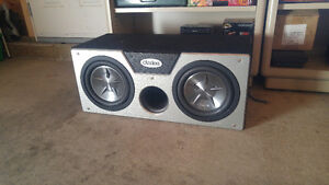 """Clairon dual 10"""" subwoofers"""