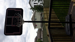 """44"""", basketball portable system, 10' height"""