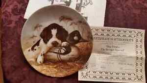 KNOWLES COLLECTABLE  DOG PLATES $8 EACH London Ontario image 2