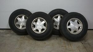 GMC Factory Rims and tires.