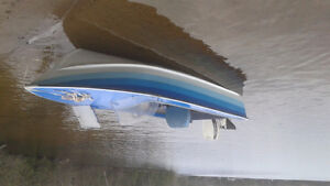 I have boat motor with trailer for sale
