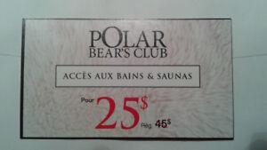 Entrée au prix 25$ au Polar Bear Club par personne.