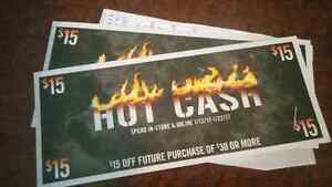 Hot Topic gift cards!