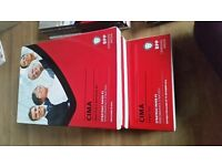 CIMA study text and exam kit for sale (for exams in 2014)
