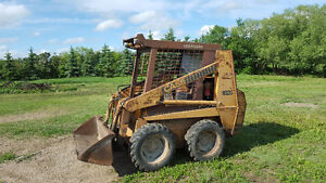 Diesel Powered 1825 Case Skidsteer