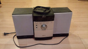 Stereo with CD Player and Radio
