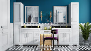 Last week  only 4 NOWRUZ $ALE!Get Bathroom vanities on discount!