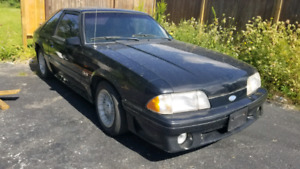 1987 ford mustang 5.0 ** no e-test needed ever**