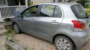 2010 Toyota Yaris LE Hatchback - yes less than 25K kms!