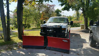 2009 Ford F-250 Pickup Truck 4 by 4 plow truck +contract
