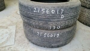 Pair of 2 Pirelli Scorpion STR 215/60R17 tires (50% tread life)