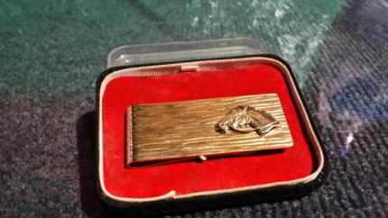 Vintage racing money clip