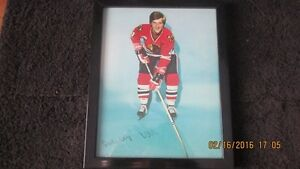 Bobby Orr signed Blackhawks 8X10 London Ontario image 1
