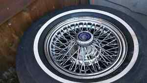 Cadillac Seville wire wheels for sale Gatineau Ottawa / Gatineau Area image 1