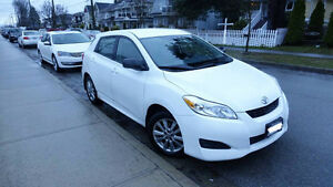 2012 Toyota Matrix (FOR SALE OBO) - $8990 (Vancouver)