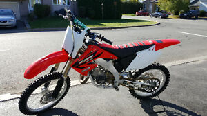 Motocross cr125 big bore 144cc