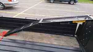 Ramp used once