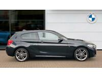 2018 BMW 1 Series 118i [1.5] M Sport 3dr [Nav/Servotronic] Petrol Hatchback Hatc