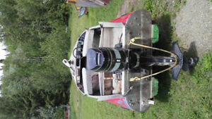 Feathercraft 14' ranger with 50 hp