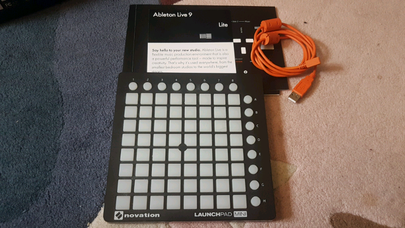 Novation launchpad mini, and ableton lite 9 license | in Brighton, East  Sussex | Gumtree