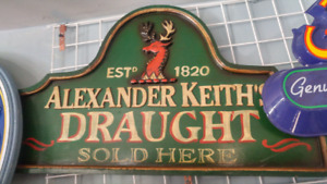 ALEXANDER KEITHS BEER SIGN