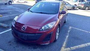 Mazda 3 2010 Red ( only 64,000 kms ) - $8000 (vancouver b.c)
