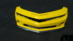Front bumper and spoiler for Camaro SS