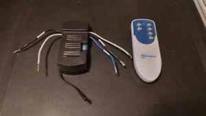 Ceiling fan remote control kit/ Contrôle à distance ventilateur