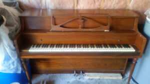 """""""Piano"""" for sale.Works but needs a good tuning."""