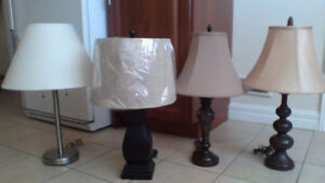 Lamps (Table Floor Desk n More) $5 - $20 ea (WOW)