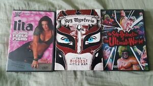 WWF DVD Lita,Rey Mysterio,Ultimate Warrior  WWF