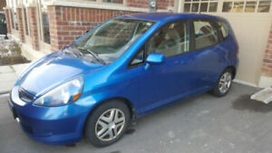 2007 Honda Fit LX (With Honda Certified Safety)
