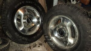 Set of 4, 6- Bolt wheels from  Infinity QX50 or fit GM trucks
