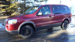 05 MONTANA - AUTO - STARTER - LOADED - A/C - ONLY 84,000KMS