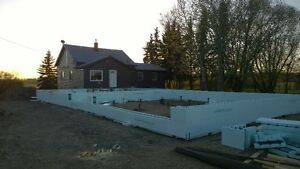 Frost wal/Grade beam ICF contractor for hire Strathcona County Edmonton Area image 3