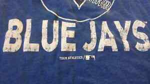 TWO official Toronto Blue Jays shirts for sale! (ADULT / KIDS) Kitchener / Waterloo Kitchener Area image 4