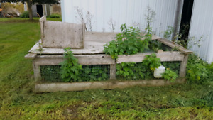 Large Outdoor pet cage plus indoor cage! *see pictures