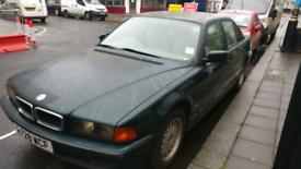 BMW 728i e38 1996 7 series low milage