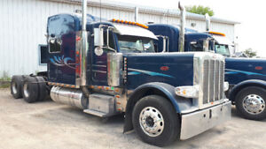2008 Peterbilt 389 with Super 40's