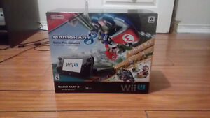 wii u 32 gb with gamepad and mariokart 8 with bonus dlc West Island Greater Montréal image 2