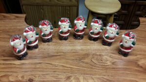 Sales Price 8 Santa Candles New in Wrappers