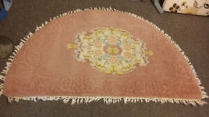 Rug Half Moon Area Wool $20 or make Your Offer