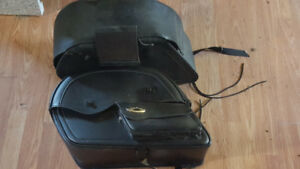 Saddle bags for motorcylce