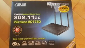 ROUTER ASUS AC1750 wireless RT-AC66u Dual Band 802.11ac in Box